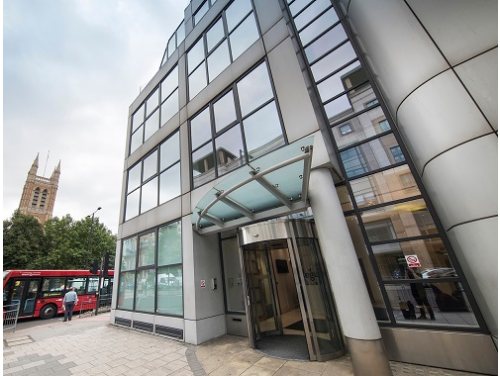 office space for rent London Queen Caroline Street Exterior