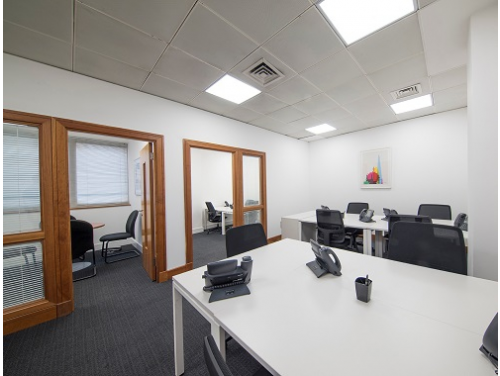 office space for rent London Queen Caroline Street Interior