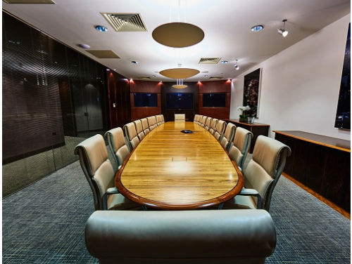 Snow Hill serviced office space London Boardroom