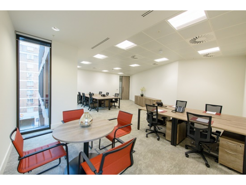 50 Sloane Avenue Office Suite with Breakout
