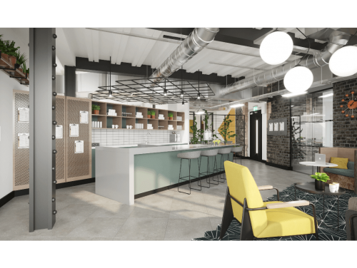 Fitzrovia - Work Life Communal Space
