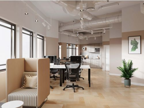 3rd floor office space